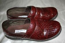 Easy Street 40-3756 Brown Loafers Option Womens Leather Shoes Flats 11 M
