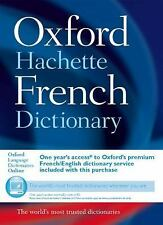 The Oxford-Hachette French Dictionary Hardcover, New