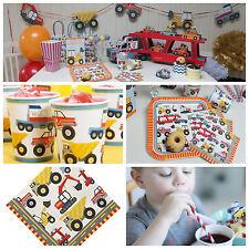 Construcción de fuentes de fiesta de cumpleaños, fiesta de construcción en una caja, construcción