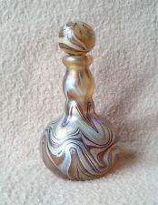ANTIQUE A NOUVEAU JUGENDSTIL BOHEMIAN LOETZ WILLENOPTISCH GLASS PERFUME BOTTLE