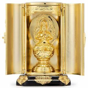 Klein Schrein Zushi Fudo Myoo Acala Acalanatha Buddha Statue Takaoka Japan