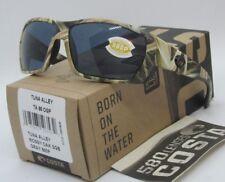 COSTA DEL MAR mossy oak camo/gray TUNA ALLEY POLARIZED 580P sunglasses! NEW!