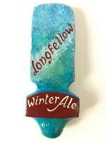 Vintage Longfellow Hand Painted Beer Tap Handle Man Cave Gift Idea Barware