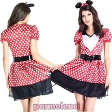 Costume Carnival Dress Woman Minnie Mouse Costume Halloween New Dl-1892