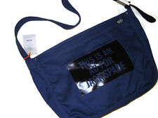 Jack Spade unisex navy Canvas This Is An Ad For Jack Spade Messenger Bag rt $128
