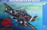 1:48 Savoia-Marchetti S.M. 79-II Sparviero, Trumpeter 02817