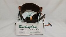 Buckingham Linemen's Body Belt Leather - New Old Stock