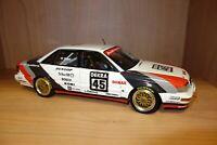 Minichamps Audi V8 Quattro Diorama model car rare diecast 1/18 1:18