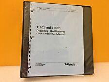 Tektronix 070 5791 01 11401 11402 Digitizing Oscilloscopes Users Manual