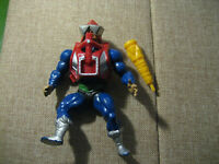 Vintage Masters of the Universe MOTU Mekaneck 1983 with Weapon and Vest