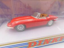 DINKY TOYS * JAGUAR E-TYPE CONVERTIBLE MK 1.5 * 1:43 * OVP * RED