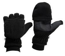 Black Fleece Convertible Mitt/Shooters Glove