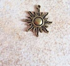 3 Sun Burst Pendant Charm Helps Feed Feral Cats And Kittens Rescue Nonprofit