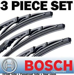 Bosch Direct Connect Wiper Blade Set for Toyota FJ CRUISER -Left, Right & Center