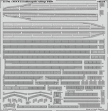 EDUARD 53105 Railing for Academy Kit USS CA-35 Indianapolis in 1:350