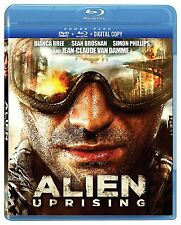 ALIEN UPRISING  DVD + BLU-RAY , ENGLISH/FRENCH , NEW SEALED