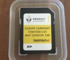 RENAULT CARMINAT TOMTOM LIVE SD Card NAVIGATION MAP 2017 - 2018 V9.85 SATNAV