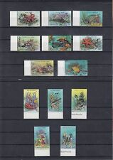 TIMBRE STAMP 13 ILE BARBUDA Y&T#893-905 POISSON CORAIL NEUF**/MNH-MINT 1987 ~A21