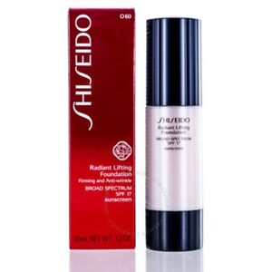 NEW Shiseido Radiant Lifting Foundation Makeup SPF 17 1.2oz