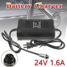 24V 1.6A Akku Batterie Ladegerät Adapter für Elektro E-Scooter Bike Roller