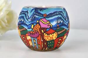 Leuchtglas 21638 Onion domes 11cm Deko Teelichthalter Windlicht Kerzenfarm