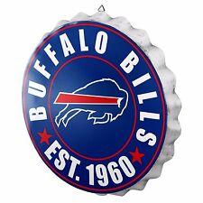 "Buffalo Bills Bottle Cap Sign - Est 1960 - Room Bar Decor NEW 13.5"""