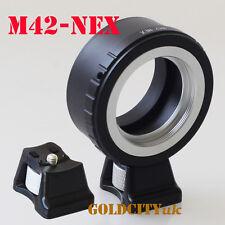 M42 to Sony E Mount Lens Adapter NEX 5 NEX-7 NEX-C3 NEX-5N NEX-VG10 With Tripod