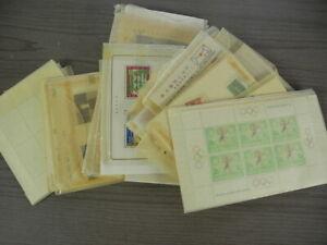 WW, JAPAN, Excellent accumulation of Stamps & Souvenir Sheets