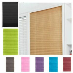 Windows Blinds Half Blackout Curtains Self-Adhesive Bathroom Balcony Shades Gift