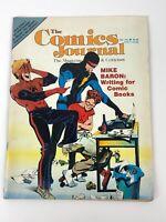 The Comics Journal Magazine #110 Mike Baron Jack Kirby Kitchen Sink Renegade