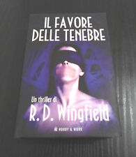 Il favore delle tenebre - R.D. Wingfield - 1° Ed. Hobby & Work Giallo & Nero  -