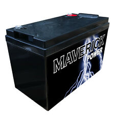 12V 120AH DEEP CYCLE AGM BATTERY SOLAR DUAL SYSTEM MARINE CARAVAN 4WD SOLAR GEL