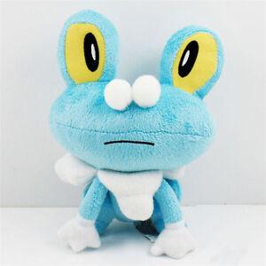 "New 7"" Froakie Mega X Kid Toy Soft Plush Soft Doll Toy Xmas Gift"