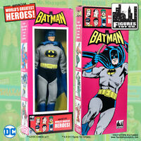 Official DC Comics Batman 8 inch Action Figure in Retro Style Retro Box