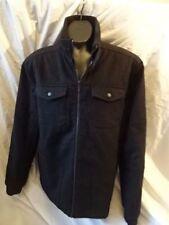 Hip Length Woolen Funnel Neck NEXT Coats & Jackets for Men