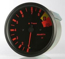 Manometro Strumento Road Italia Abarth Delta S4 Contagiri RPM 100mm Analogico