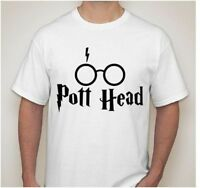 Harry Potter I see POTT HEAD 420 Marijuana T-Shirt Long sleeve Hoodie tank top