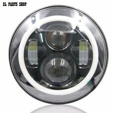 Phare LED Daymaker 5 pouces 3/4 avec Halo Angel Eyes pour Harley, Triumph, Bmw