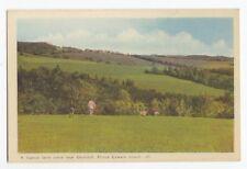 Farm scene CHURCHILL Prince Edward Island PE Canada 1930-40s PECO Postcard 27