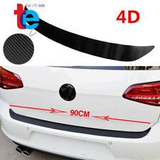 1X Accessories Carbon Fiber Car Rear Guard Bumper 4D Sticker Panel Protector New