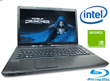 "Cheap Gaming Laptop Sony Intel i5 6GBRam 650GB HDD Geforce 410M 17.3"" Windows 10"