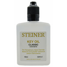 More details for specialist saxophone key oil 60ml by steiner music