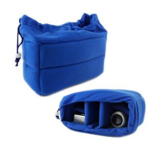 DSLR Digital Camera Bag Insert Protect Case Partition For Canon Nikon Sony Lens