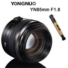 Yongnuo YN85MM F1.8 AF MF Medium Prime Telephoto Lens for Canon EF EOS Camera UK