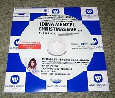 IDINA MENZEL Japan PROMO ONLY CD acetate OFFICIAL more listed CHRISTMAS EVE