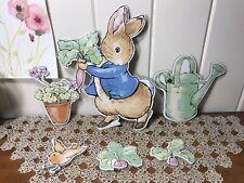 Peter Rabbit Beatrix Potter 6 Piece Nursery Decor Wall Art