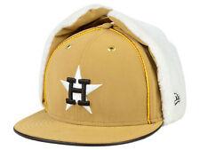 Houston Astros New Era 59FIFTY MLB Dog Ear Winter Cap Hat - Size: 7