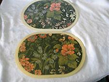 Floral & Nature Plastic Placemats