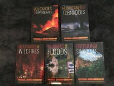 Physical and Human Geography Books set -5 Books- supports school learning D4