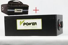 48V 20AH Lithium Batteries Electric Bike Rechargeable Battery BMS Li-ion Charger